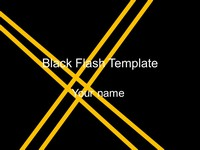 Black Flash Template thumbnail