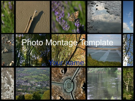 Photo Montage Template