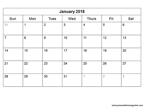Free  Printable Calendar Template Sunday Start