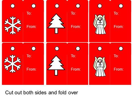 크리스마스 태그