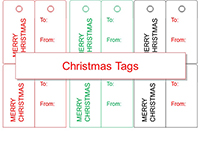 Christmas Tag Outline thumbnail