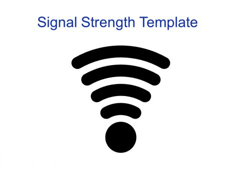 Wireless Signal Strength Template