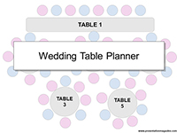 Wedding Table Planner Template thumbnail