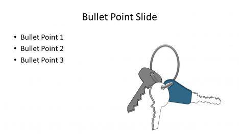 Modern Key Clip Art Template inside page