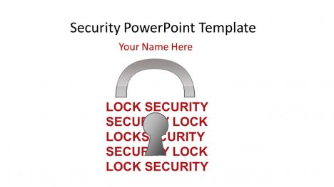 Security PowerPoint Template