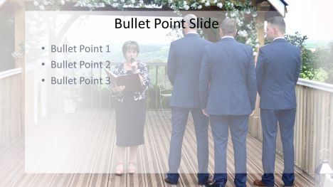 Groomsman PowerPoint Template inside page