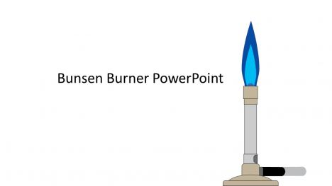 Bunsen Burner PowerPoint Template