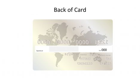 Platinum Credit Card Template inside page