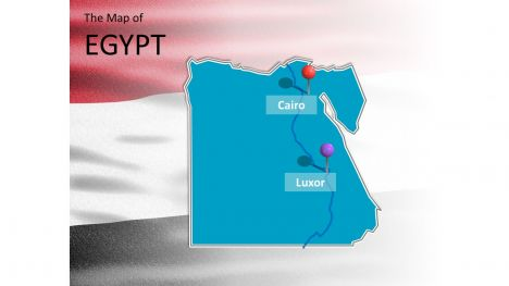 free widescreen egypt powerpoint template