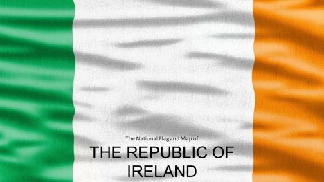 republic of ireland widescreen powerpoint template