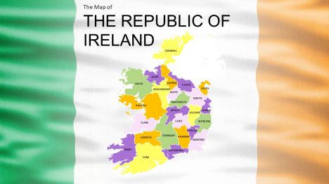 Republic of Ireland Widescreen PowerPoint Template inside page