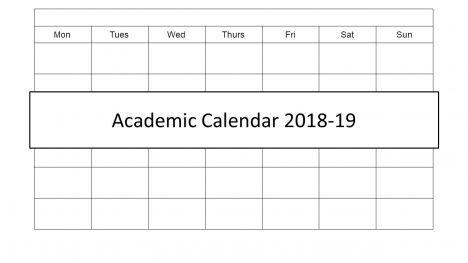 Academic Calendar 2018 PowerPoint Template