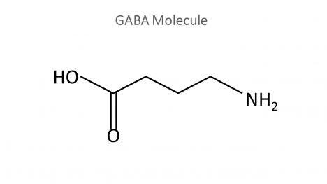 GABA Molecule PowerPoint Template inside page