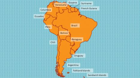South America Maps inside page