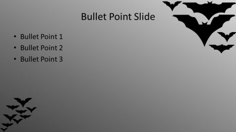 Halloween Bats PowerPoint Template inside page