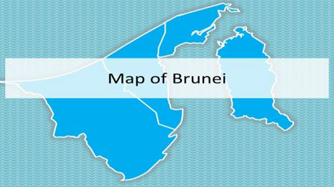 Brunei Map PowerPoint Template