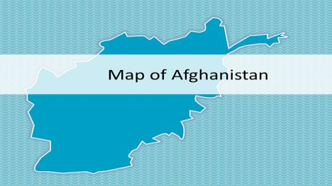 Afghanistan Map PowerPoint Template