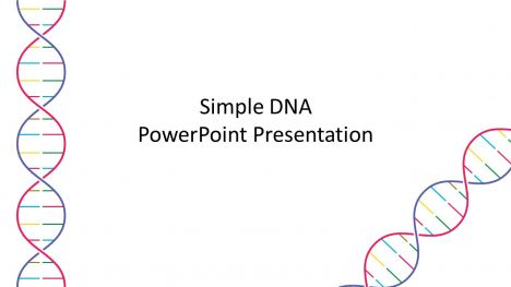 Simple DNA Template