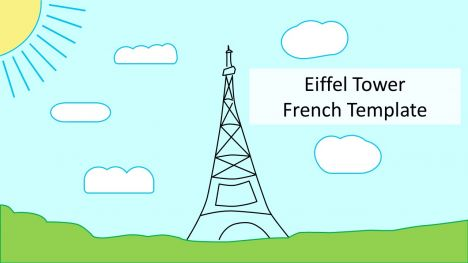 Eiffel Tower French PowerPoint Template
