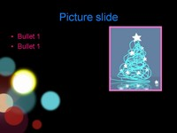 Christmas Lights Template slide4
