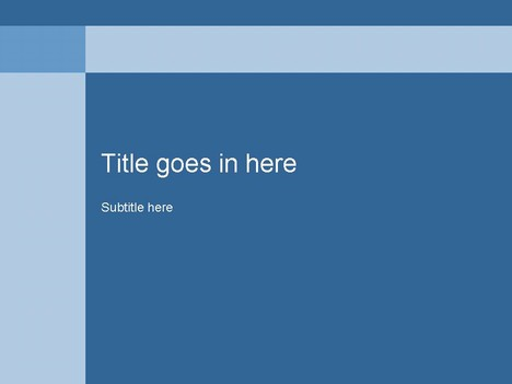 powerpoint templates blue. Blue PowerPoint Template
