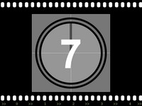 Filmstrip with Countdown PowerPoint Template slide4