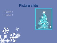 Snowflakes Template slide4