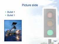 Traffic Lights Animated Template slide4