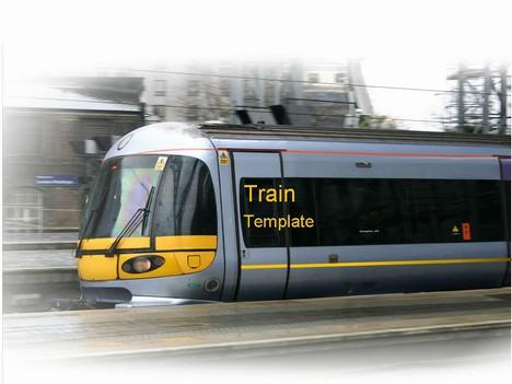 Train Powerpoint Template