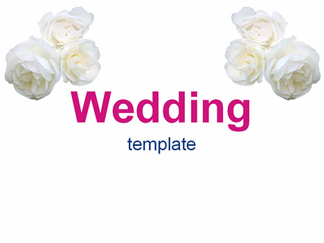 wedding flowers background. Wedding Flowers Template