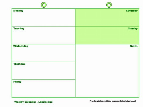 free daily planner template