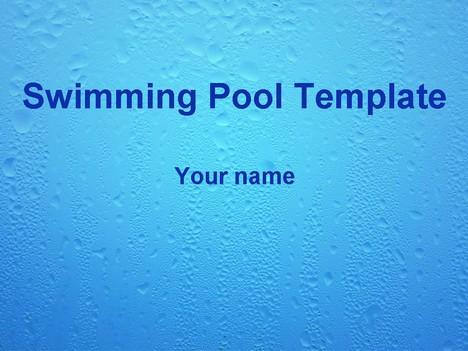 Swimming Pool Template
