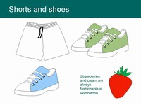 Free Tennis Clip Clip Art ball shoes racket PowerPoint Template slide4