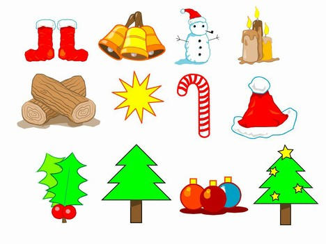 selection of Christmas clip art – all in editable PowerPoint ...