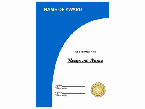 More certificate clip art for Award certificate template powerpoint