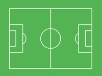 Football pitch template slide3