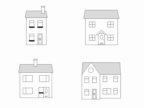 Houses template slide2