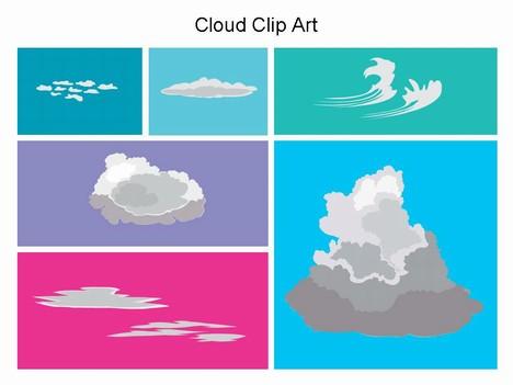 Powerpoint Clipart Cloud