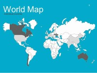 World Maps Vector Editable – Updated