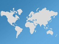 World Maps Vector Editable - Updated PowerPoint Template
