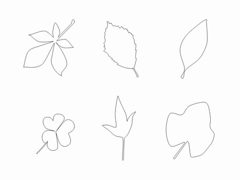 Free Leaf Clip Art PowerPoint Template slide2