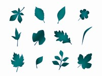 Free Leaf Clip Art PowerPoint Template slide4