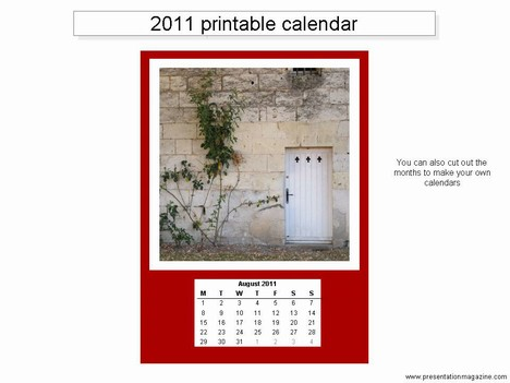 1 page yearly calendar 2011. Here is a yearly calendar for