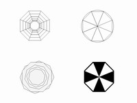 Octagon Clip Art Template slide4