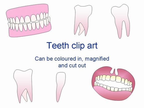 teeth smile clip art. Teeth Clip Art PowerPoint
