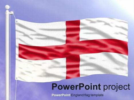 powerpoint england flag