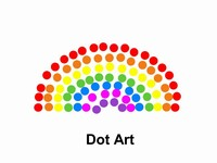 Dot Art PowerPoint Template