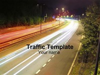 Traffic (Black) Template