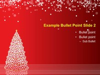 Christmas Tree Lights Template slide3