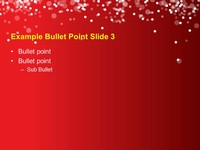 Christmas Tree Lights Template slide4